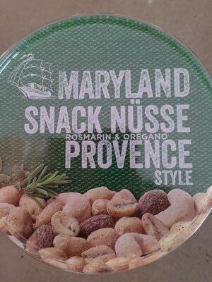 Snack Nüsse Provence - Produit
