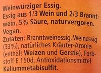 Altmeister Der Klassiker - Ingrédients