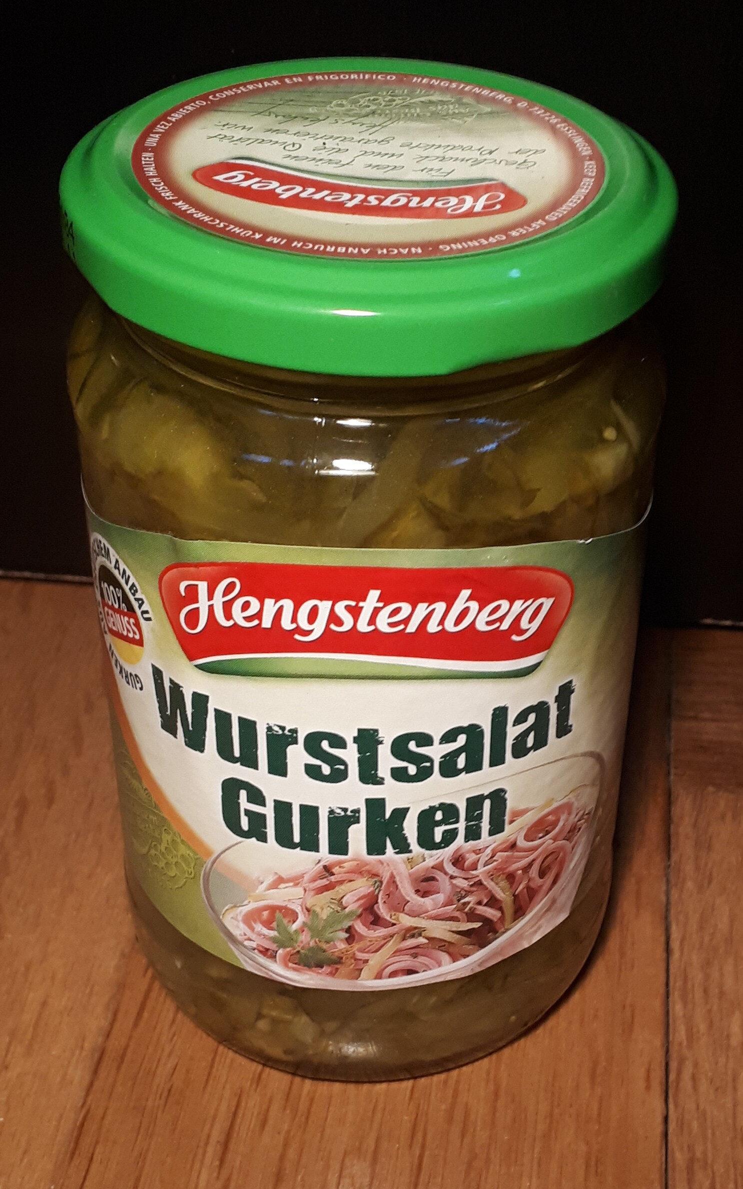 Wurstsalat Gurken - Produit - de