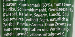 Paprika Mark würzig - Ingredients