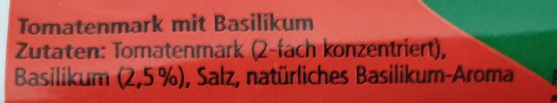 Tomatenmark - Ingredienti - de