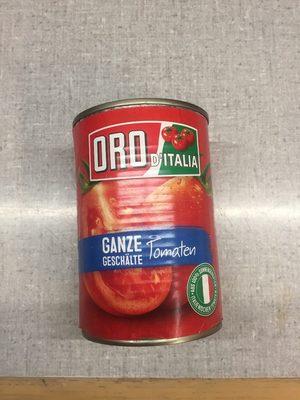 Ganze geschälte Tomaten - Produit