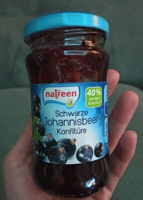 Schwarze Johannisbeer Konfitüre - Produkt - de