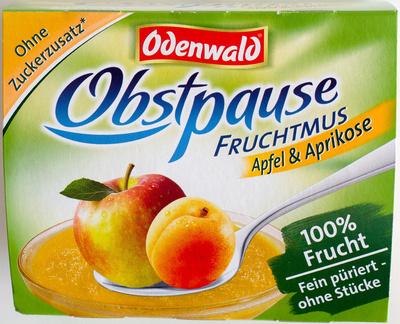 Obstpause Apfel & Aprikose - Produit
