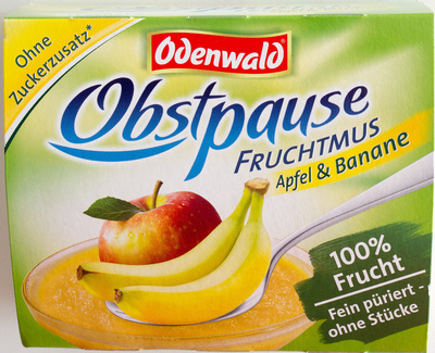 Obstpause Apfel & Banane - Product