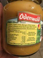 Apfel & Mango - Ingrédients