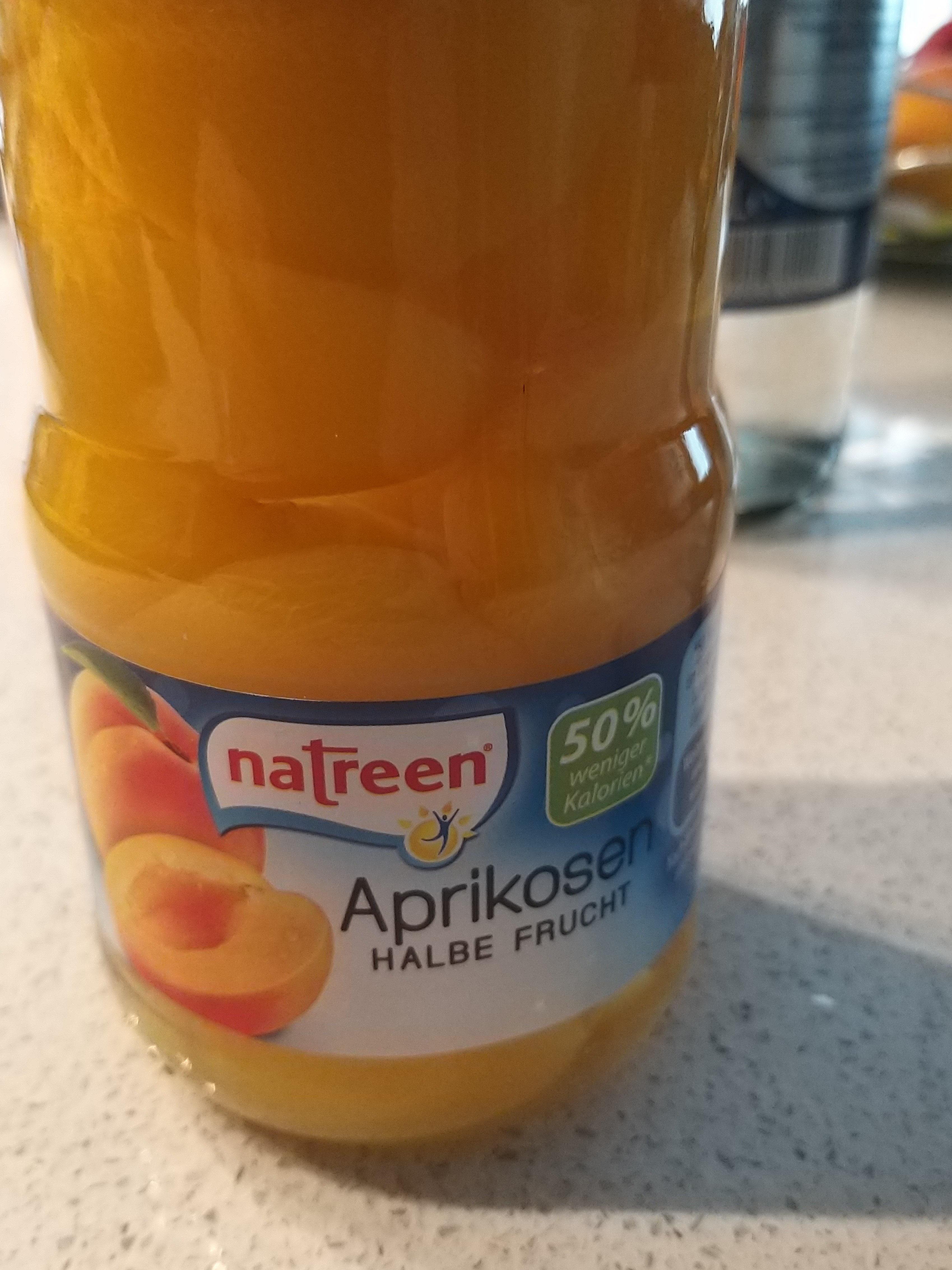 natreen aprikosen - Produit