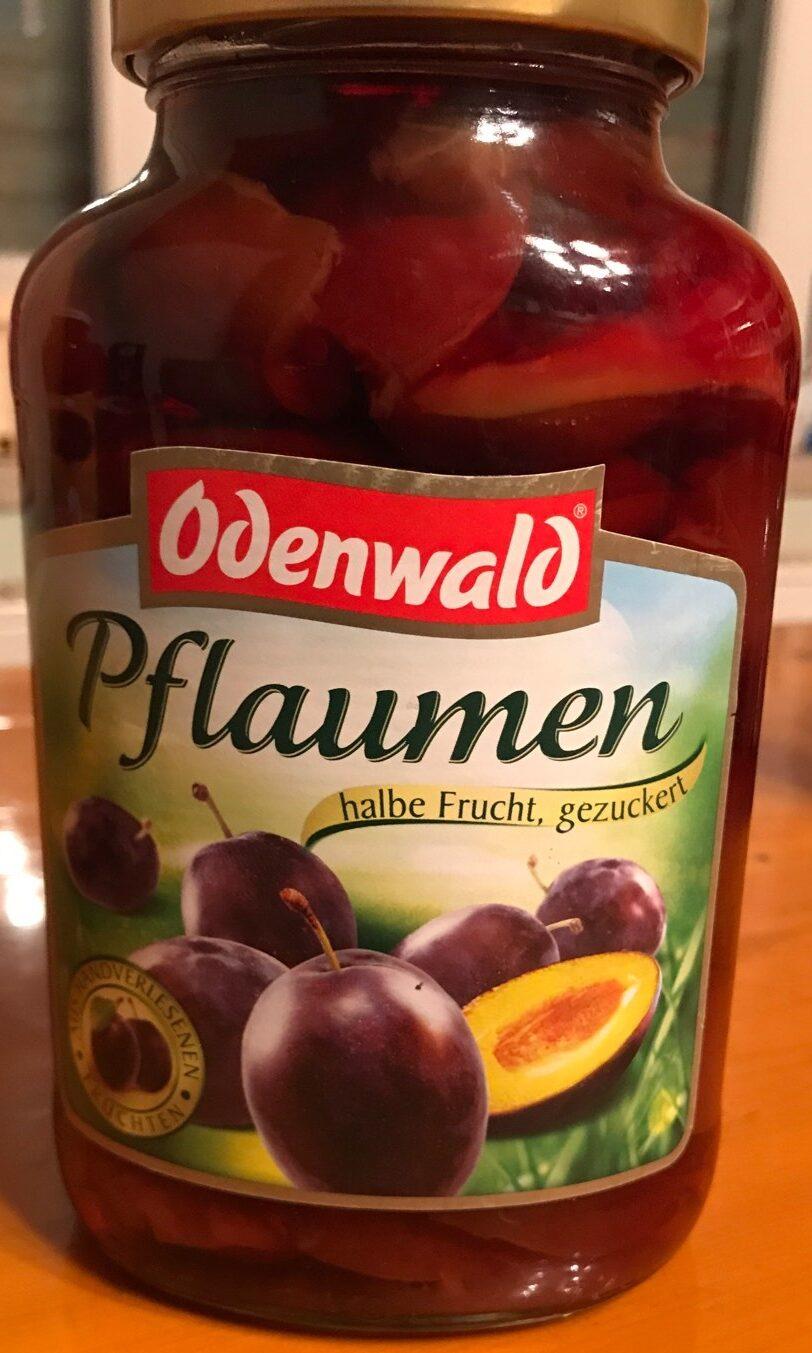 Pflaumen (halbe Frucht) - Produit - de