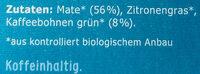 Mate + Grüner Kaffee - Ingredients