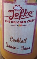 Sauce cocktail - Produit
