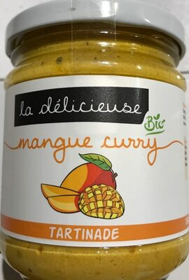 Tartinade bio mangue curry - Produit - fr