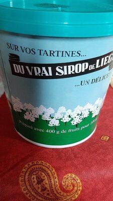 Du vrai sirop de Liège - 产品 - fr