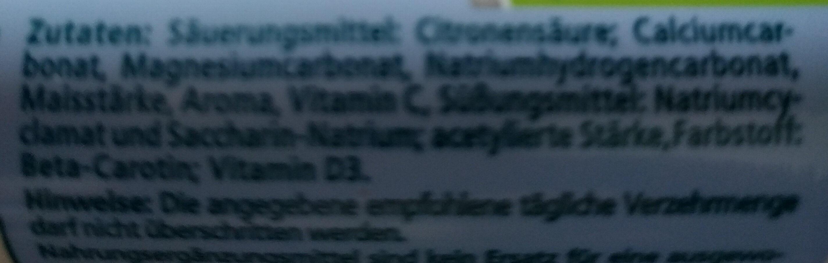 Magnesium, Calcium D3 - Ingrédients - de