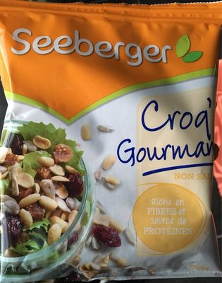 Croq' gourmand non salé - Product