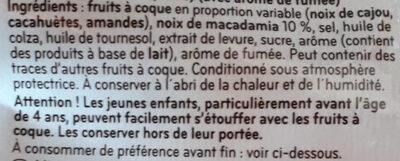 Mélange grillé salé - Ingredienti - fr