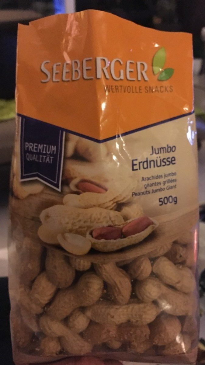 Erdnüsse Jumbo - Produkt - fr