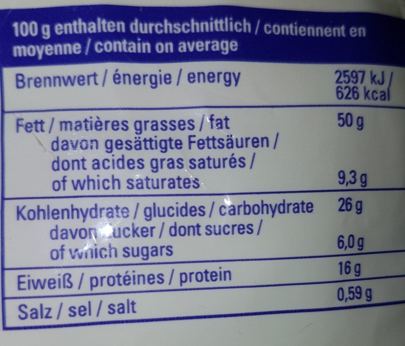 Cashewkerne - Ingredienti - fr