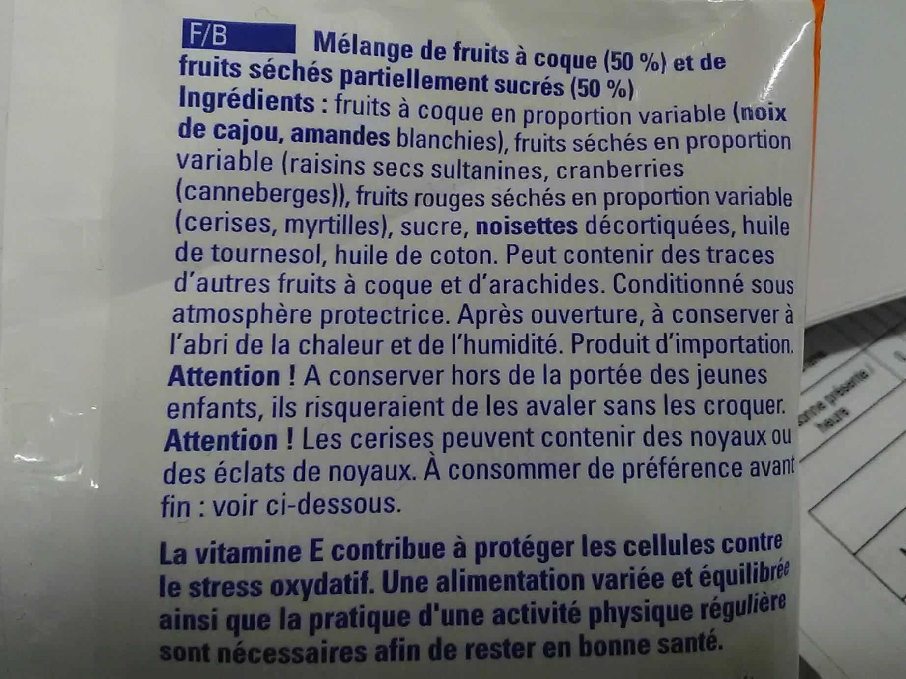 Croq'Fitness non salé - Ingrediënten