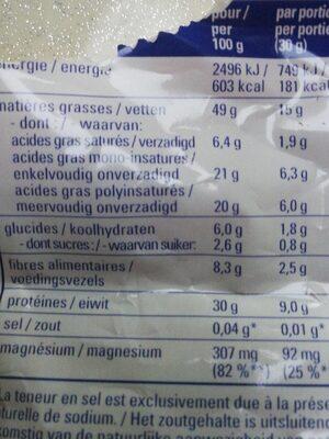 CROQ' VITALITE - Informations nutritionnelles - fr