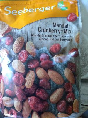 Mandel cranberry mix - Produit - fr