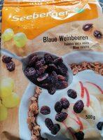 Blaue Weinbeeren - Prodotto - fr