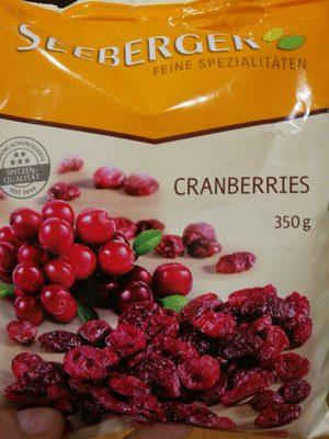 CRANBERRIES - Produit - fr