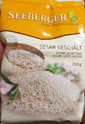 Sesam Geschält / Sésame décortiqué - Produit - fr