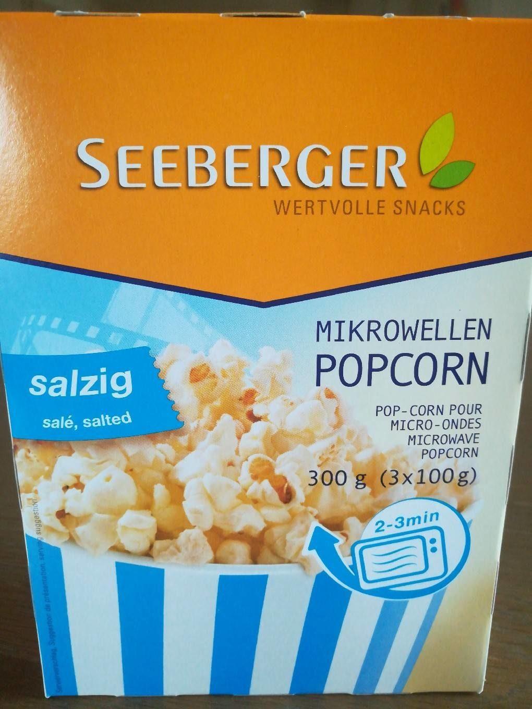 Popcorn salé pour micro-ondes - Produit - fr