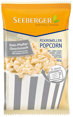 Seeberger Mikrowellen-Popcorn mit Salz-Pfeffer-Geschmack - Produit - fr