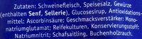 Bierbeißer - Inhaltsstoffe