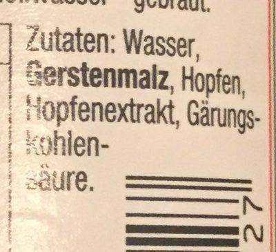 Krombacher Alkoholfrei - Ingredients - de