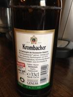 Krombacher - Produkt
