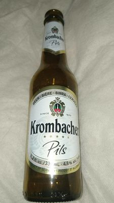 Krombacher Pils Botella - Producto