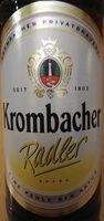 Krombacher Radler - Product - de