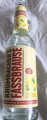 Krombacher's Fassbrause, Zitrone - Product - de