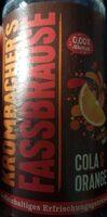Krombracher's Fassbrause Cola&Orange - Produkt - de