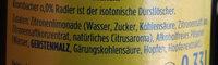 Krombacher 0,0% - Inhaltsstoffe - de