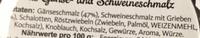 Hubertus Schmalz aus Gänse- und Schweineschmalz - Ingrediënten - de