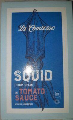 Squid in tomato sauce - Prodotto - en