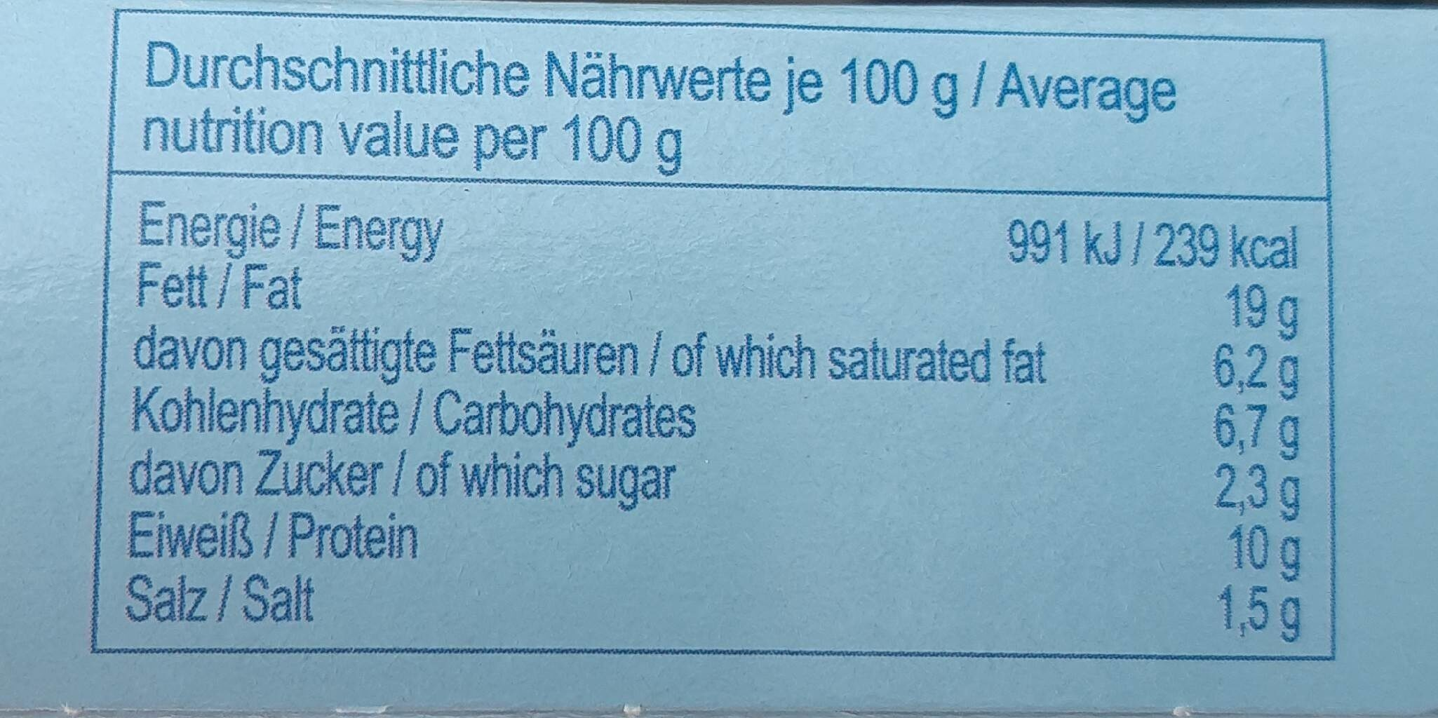 Squid in tomato sauce - Valori nutrizionali - en