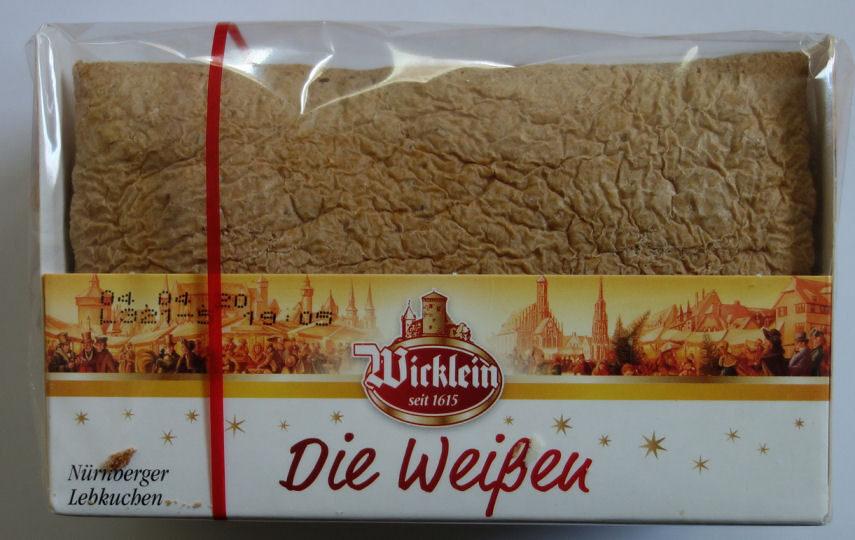Die Weißen Nürnberger Lebkuchen - Produkt - de