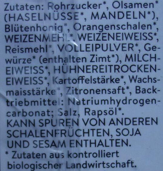 Mini Elisen Wicklein - Ingrediënten - de