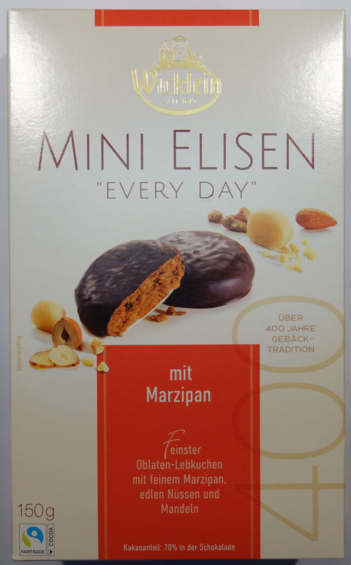 "Mini Elisen ""Every Day"" mit Marzipan - Produkt - de"