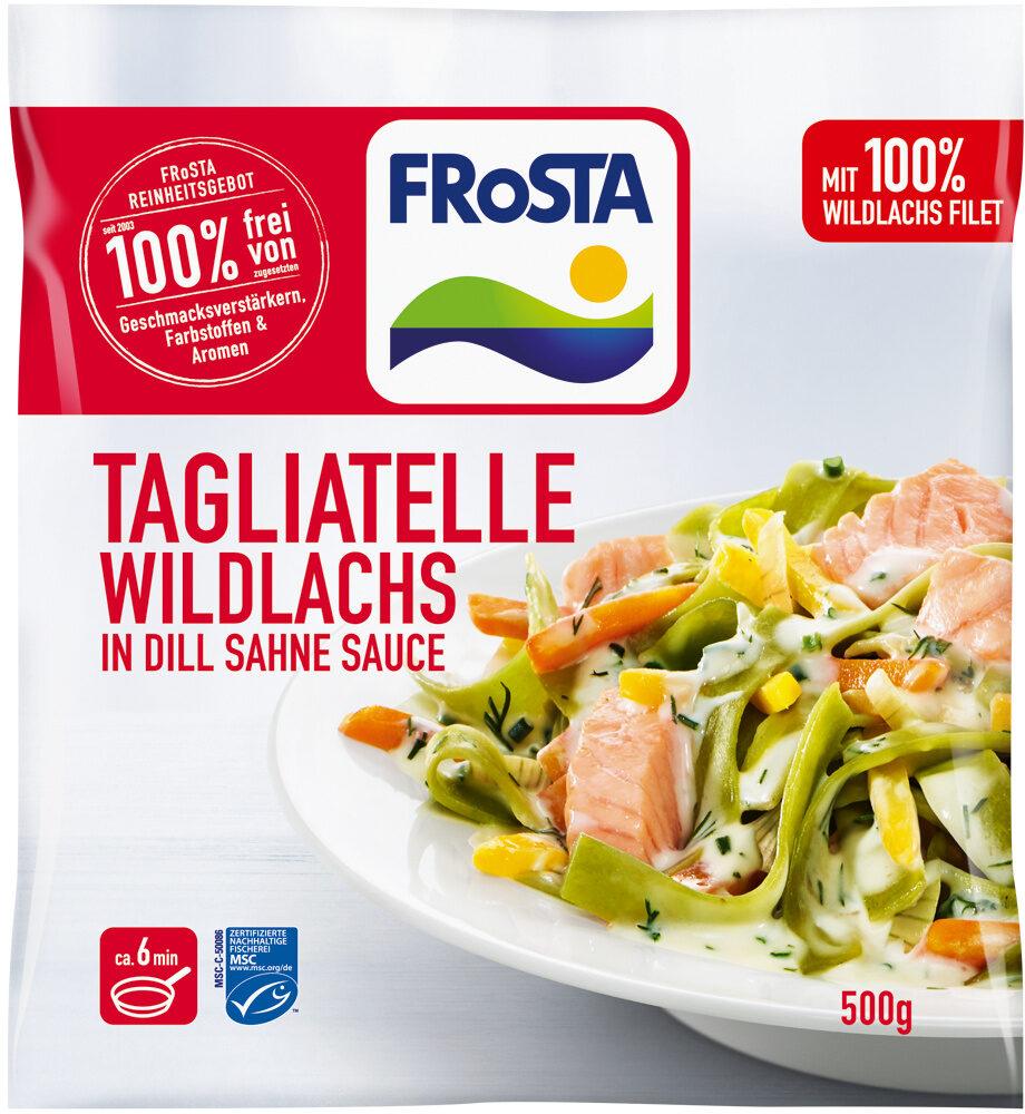 Tagliatelle Wildlachs in Dill Sahne Sauce - Produkt - de