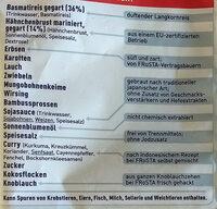 Nasi Goreng - Ingredients