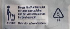 Bami Goreng - Istruzioni per il riciclaggio e/o informazioni sull'imballaggio - de