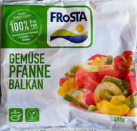 Gemüse Pfanne Balkan - Produit