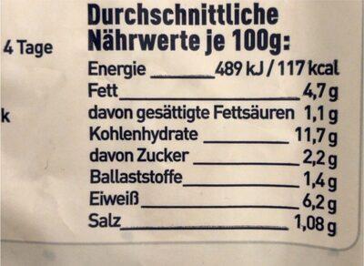 Hähnchen Paella - Informations nutritionnelles - de