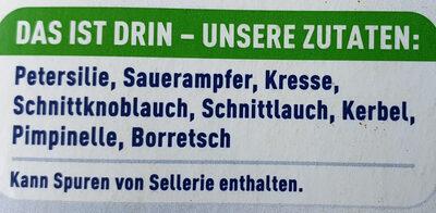8-Kräuter - Ingrédients