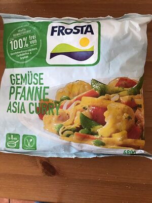 Gemüse pfanne asia curry - Produkt